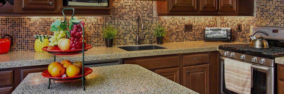 Custom Kitchen Countertops & Back Splashes